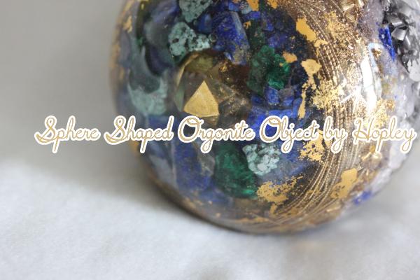 スフィア型オルゴナイト