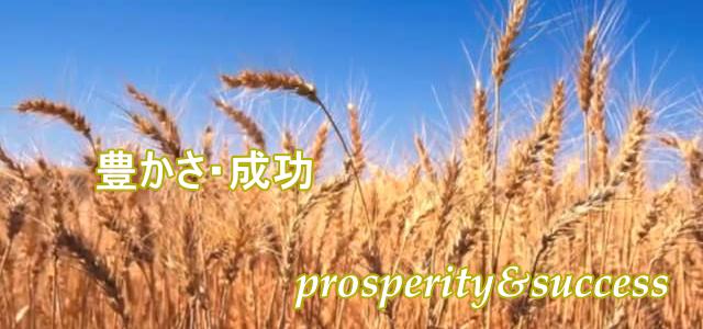 豊かさと成功